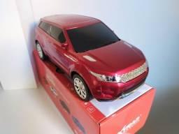 Range Rover Vermelha Cainxinha de Som Portátil
