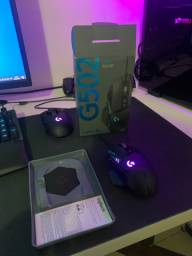 Vendo Mouse gamer G502 hero. 250,00 novíssimo