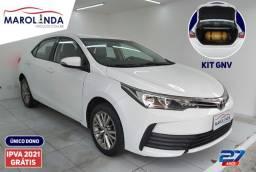 Toyota Corolla Gli 1.8 Aut. Gnv- Ipva Pago Impecável - 2018