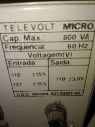 Transformador televolt 110 v