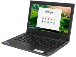 Título do anúncio: Chromebook Lenovo 100E 10 horas autonomia de bateria