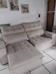 Título do anúncio:  sofá retrátil e reclinável, imgenizado.