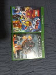Título do anúncio: Jogos, Darksiders e Lego Movie para xbox one