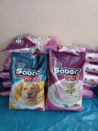Ração para Gato e Cachorro