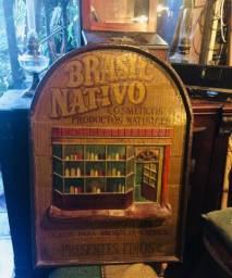 Placa Vintage de loja
