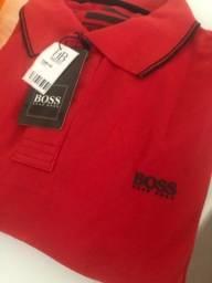 Camisa polo e bolsas etc
