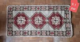 Jogo de tapetes arraiolo (2 unidades) 1,40 x 0,70