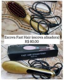 Título do anúncio: Escova alisadora Fast Hair