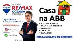 Título do anúncio: AR Vendo excelente casa na AABB em Serra Talhada-PE