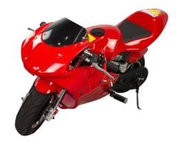 Título do anúncio: Mini moto a gasolina