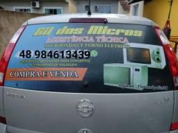 Título do anúncio: Compra-se microondas, ou forno elétrico com defeito.