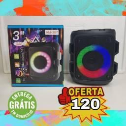 Título do anúncio: CAIXA DE SOM PORTÁTIL BLUETOOTH, ENTREGA GRÁTIS