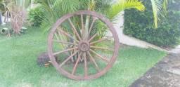 Roda de Carreta Antiga