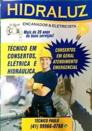 Título do anúncio: Encanador e Eletricista Matinhos Caiobá