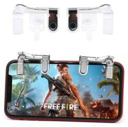 Gatilho Free Fire Botões R1 L1 Jogos mobile de tiro