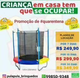 Título do anúncio: Garanta já mais diversão para seus pequenos, com aluguel de pula pula por 7, 15 e 30 dias!