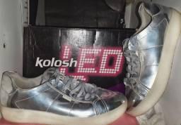 Tênis  de Led Kolosh  semi novo