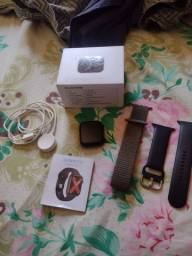 Título do anúncio: Smartwatch w46 Black