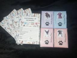 Carteira de IDENTIDADE de PETS ( LEIA O ANÚNCIO)