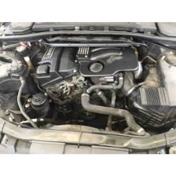 Motor parcial bmw 320i 2.0 2007 com nota fiscal e garantia