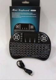 Mini controle sem fio para Smart TV, TV Box