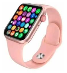 Título do anúncio: Relógio Inteligente Smartwatch X8 44mm Foto De Perfil + Nf<br><br>