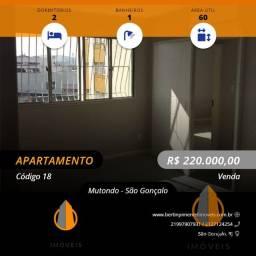 Título do anúncio: São Gonçalo - Apartamento Padrão - Mutondo