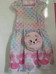 Vestido Mon Sucré c/ bolsinha de R$ 90,00 por  Apenas R$ 70,00!!!