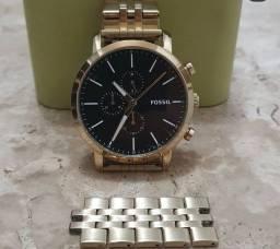 Relógio Fossil Dourado BQ2329