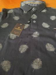 Título do anúncio: Camiseta Gola Pólo Masculina Mioche