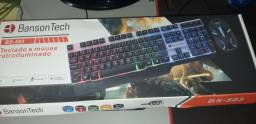 Mouse e teclado novo