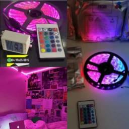 ®Fita de Led Colorida RGB Completa
