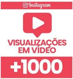 1000 visualizaçoes no seu video no instagram por R$7,50