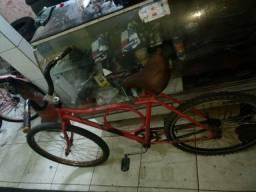 Título do anúncio: Vendo essa Bicicleta aro 26 contra pedal