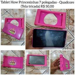 Título do anúncio: Tablet How princesinhas