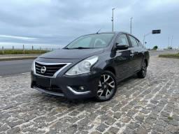 Título do anúncio: Nissan Versa Unique Automático+GNV 2017