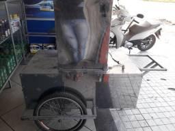 Máquina de caldo de cana + carrinho