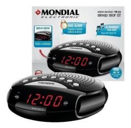 Radinho Moderno C/alarme Relógio Digital Casa Sala Quarto 5w Oferta
