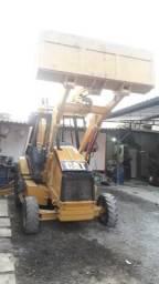 Retro escavadeira caterpilar 416 D