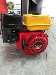 R$ 398 Motor usado a gasolina 4t 5,5hp
