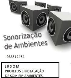 Projetos e Instalação de som em Ambientes