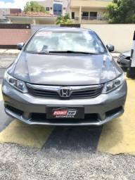 Honda Civic lxs completo de tudo! Carro extra bem novinho - 2012