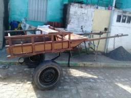 Carroça de madeira feita por Ci R$ 2.200,00