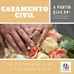 Fotografia de Casamento Civil - Cartório