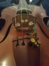 Violino pronto para ser tocado!