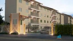 Apartamento residencial para locação, Tamatanduba, Eusébio - AP0612.
