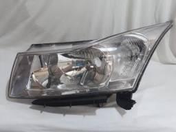 Farol Chevrolet GM Cruze lado esquerdo (LE) Original