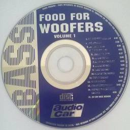 Coletânea Audio Car 20 CD's Strong Mechanic Bass Usa SPL Food for Woofers