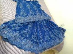 Linda roupa de baiana para festa de Ogum