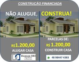 Construa sua Casa financiada, sais do aluguel!!
